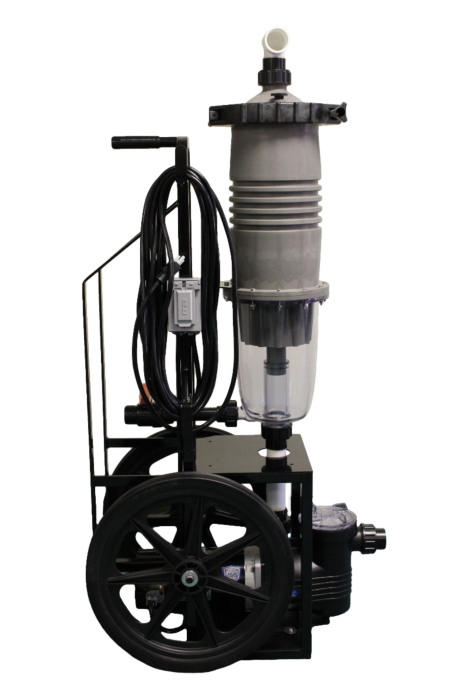 Commercial ultra vac filtration cart
