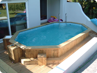 Folkpool 'Zircon' Timber Swimming Pool