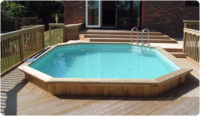 Folkpool 'Jewel' Timber Swimming Pool