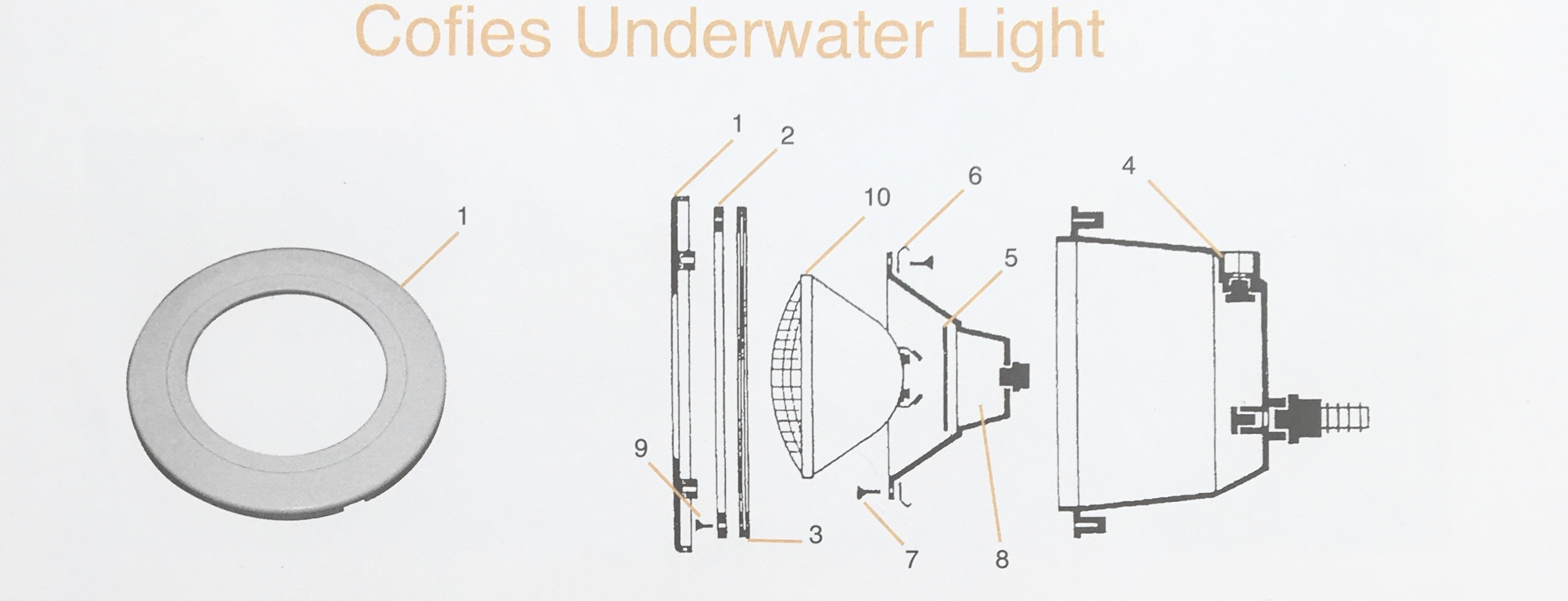 Cofies Underwater LightParts