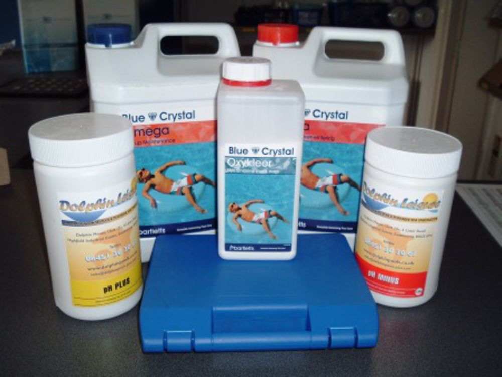 Blue Crystal Swimming Pool Non Chlorine Option