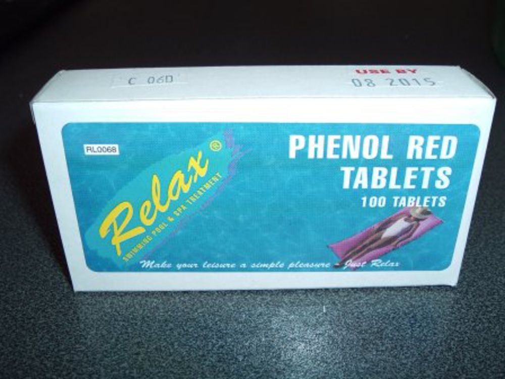 Phenol Red Tablets Ph Test Tablets