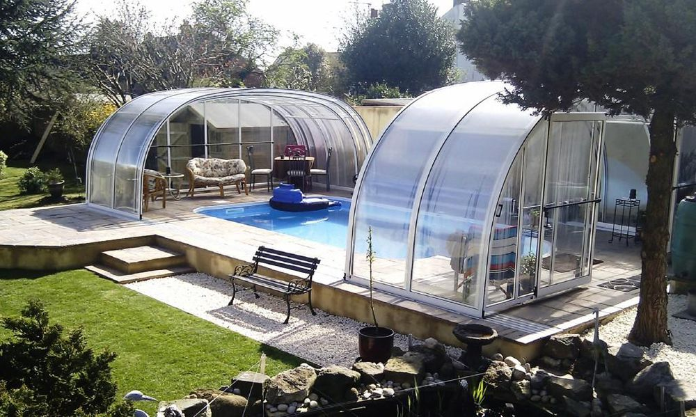 Swimming pools in ground pools above ground pools from for Pool enclosure design software