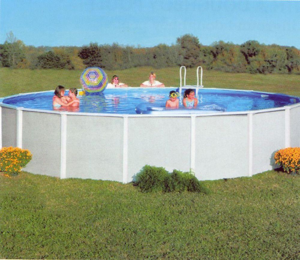 Doughboy Premier Steel Swimming Pool