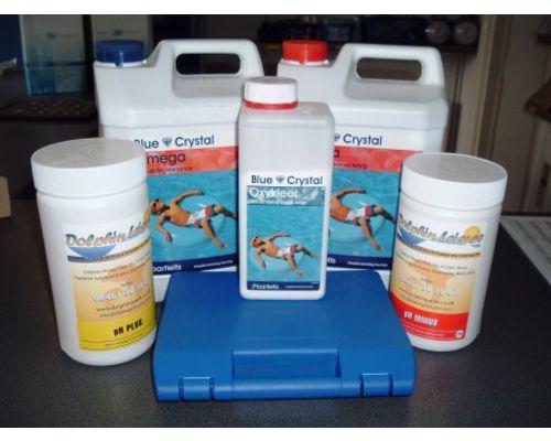 Blue Crystal Swimming Pool Non Chlorine Option Full Pack