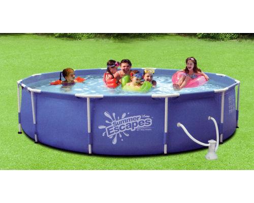 Metal Frame Splasher Pool