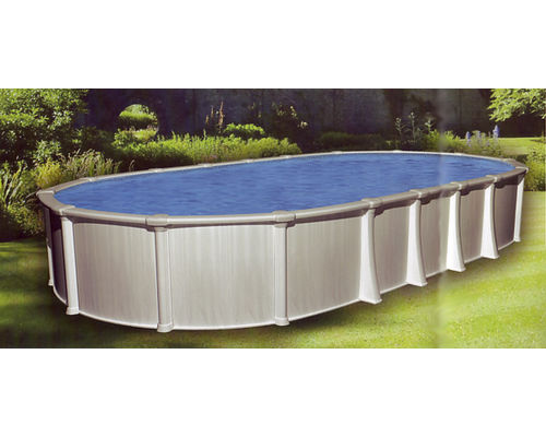 Oracle steel swimming pool for Above ground swimming pools uk