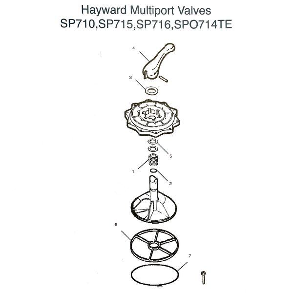 Hayward Multiport Valve Parts