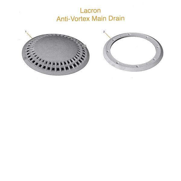 Lacron Anti Vortesx Main Drain