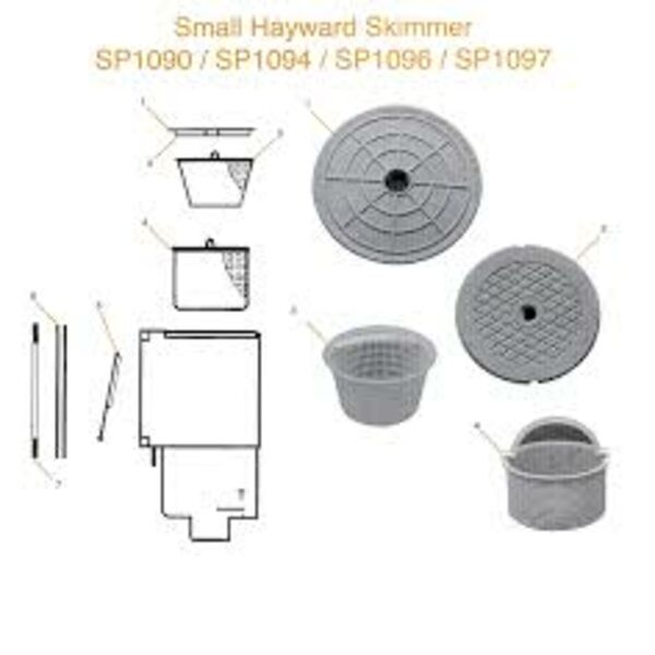 Small hayward skimmer
