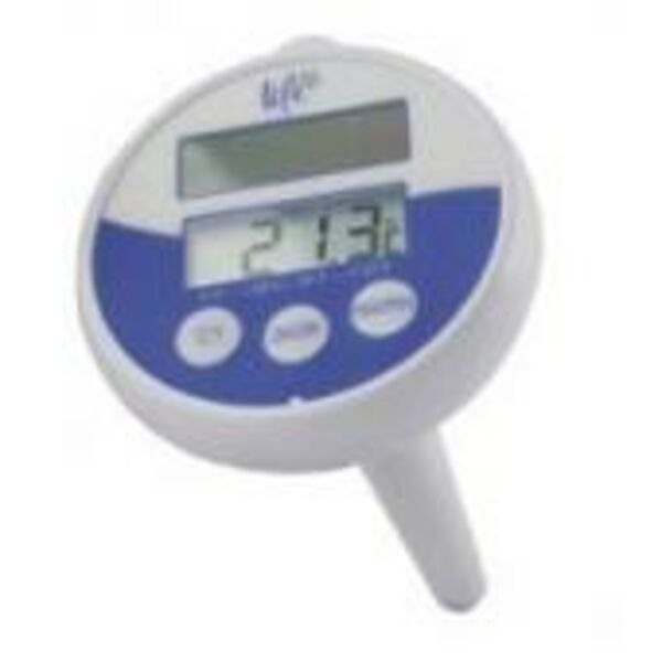 Life Solar Powered Thermometer